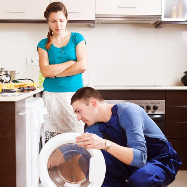 Устранение поломки в стиральной машине